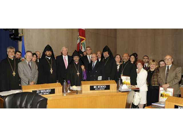 Antonovich recognizes 'Day of Remembrance' for Armenian Genocide