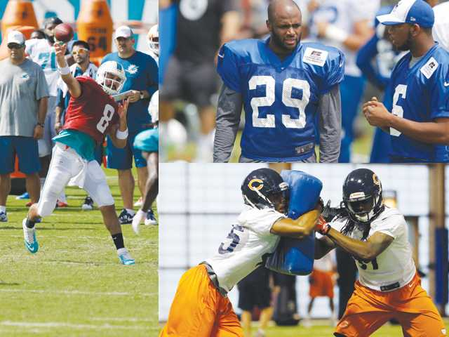 SCV players back in NFL camp again