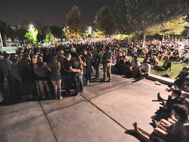 Hundreds attend vigil for Saugus girl