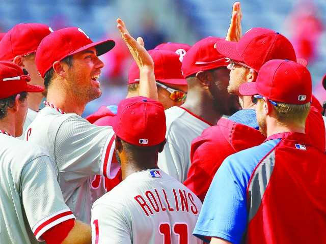 Four Phillies combine to pitch no-hitter