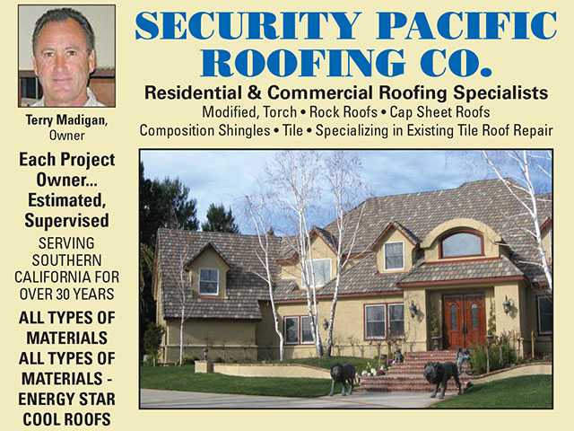 Security Pacific Roofing