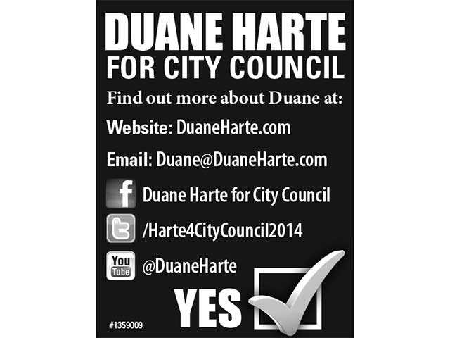 Duane Harte for City Coucil