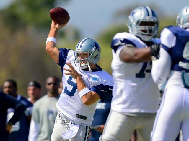 Romo to skip full-pad session at camp
