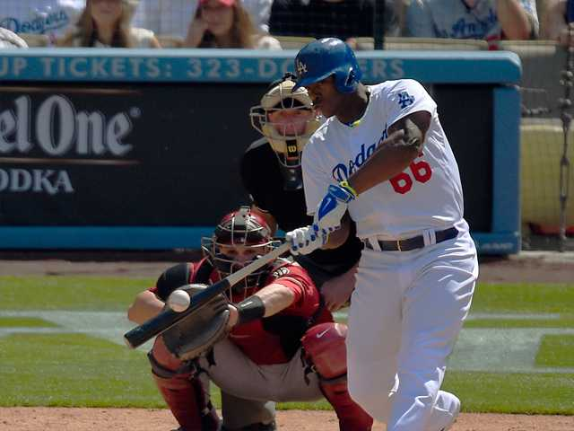 Puig powers Dodgers to series win