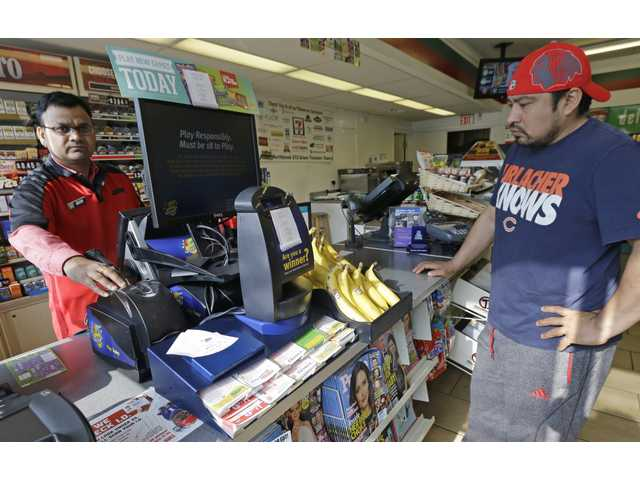 Last-minute fortune seekers buy Powerball