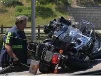 Signal News Now: Motorcyclist Injured in Crash