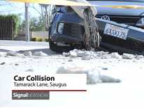 Signal News Now: Car Collision Sends Occupant to Hospital