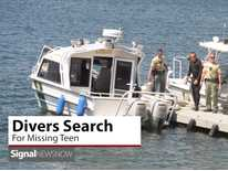Signal News Now: Divers Search For Missing Teen