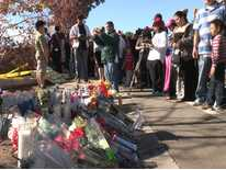 Friends, Fans Mourn Paul Walker's Death at Site of Crash