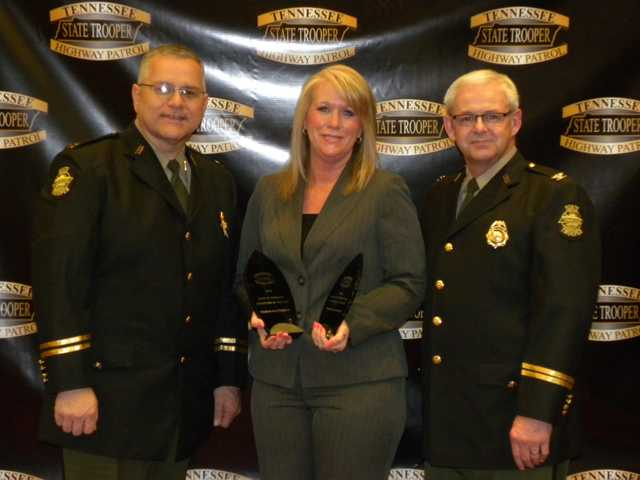 Hattaway named THP dispatcher of the year