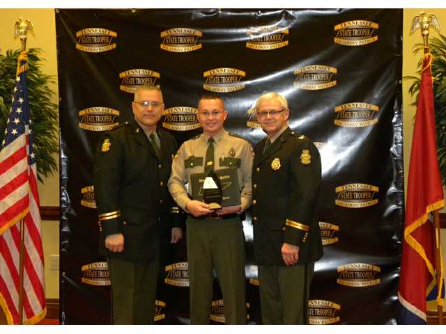 Jennings earns district Trooper of the Year award