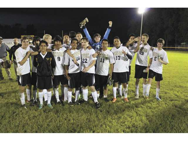 Tigers fall to Central Magnet in  soccer championship
