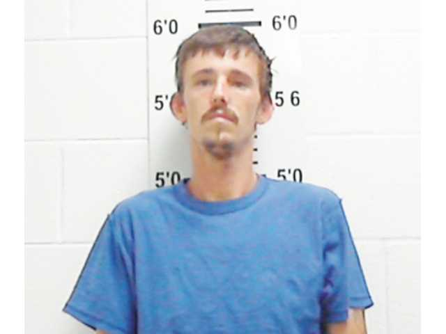 Man arrested with rolling meth lab