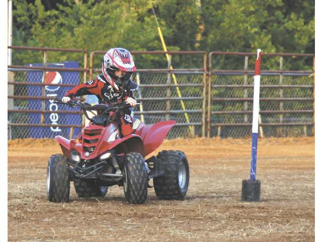 Fair's ATV Rodeo test rider's skills