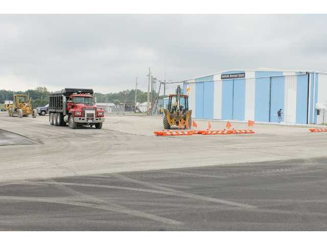 Airport closed for repaving