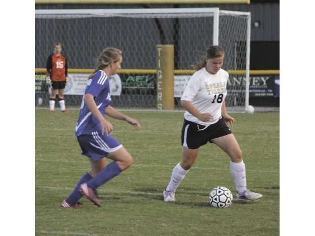 DCHS Lady Tigers tie one, lose one