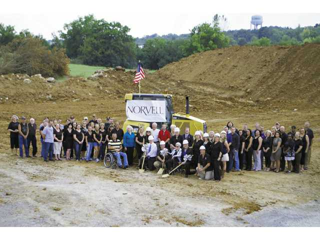 Norvell breaks ground on new facility