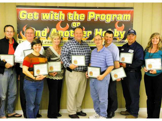 Nine graduate Citizen's Fire Academy