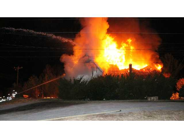 Pinegar home destroyed by fire