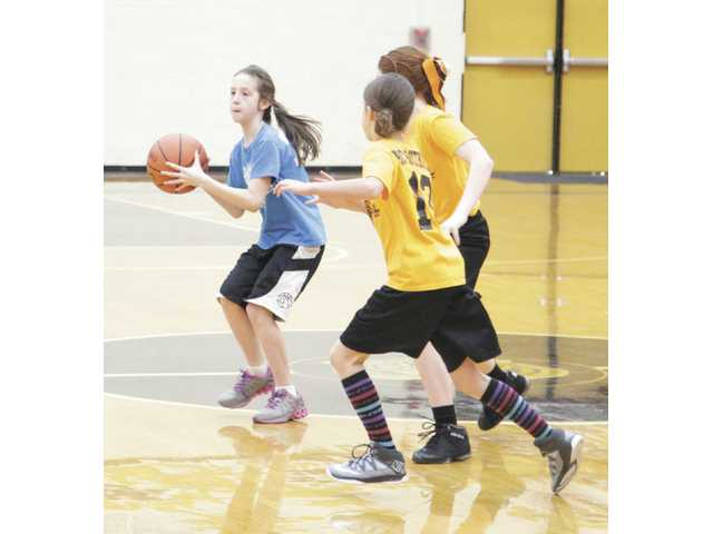Tough games for Middle Girls Division