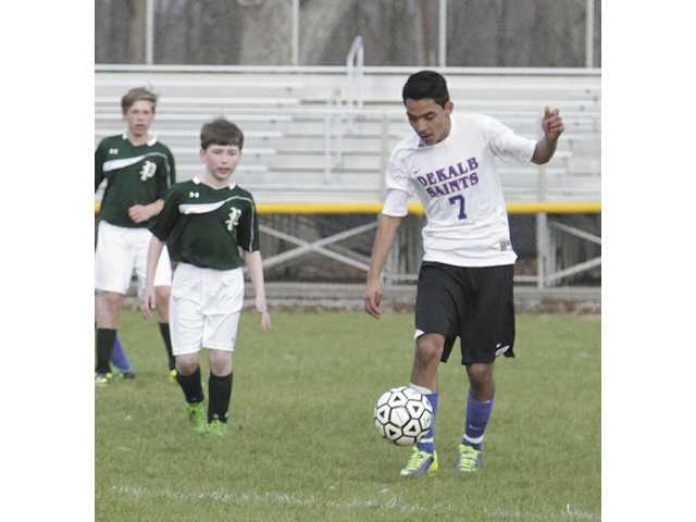 DMS Saints Soccer team continues with victories