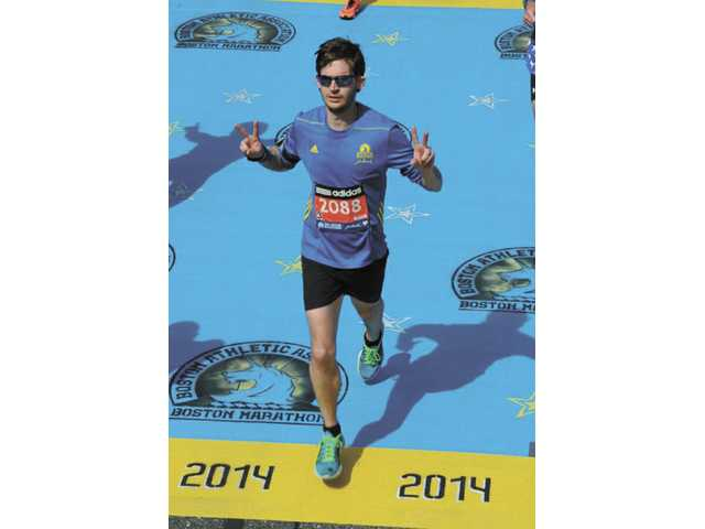 Local man runs Boston Marathon