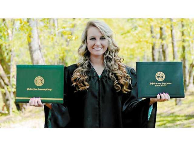 DCHS senior graduates college