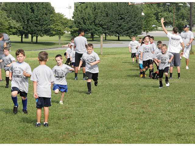 Football camp shows Tiger Pride