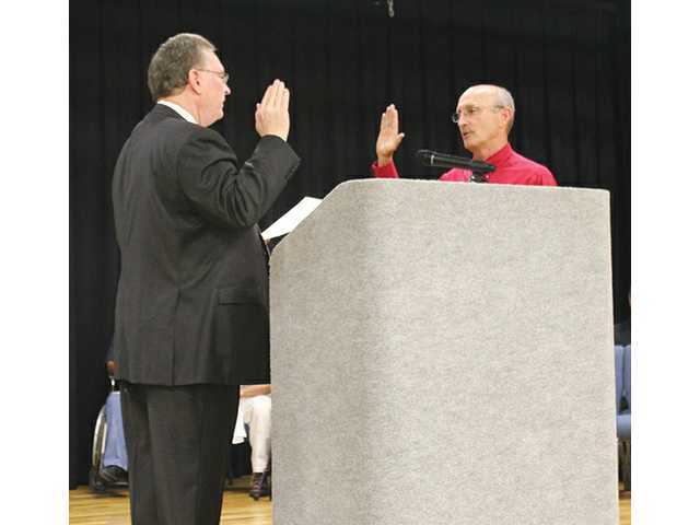 County officials take oath