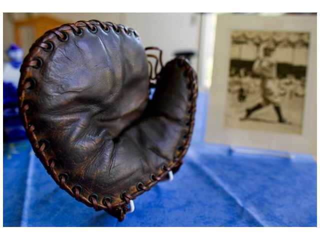 Signed Lou Gehrig glove could sell for $200K