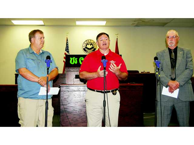 Sheriff candidates square off