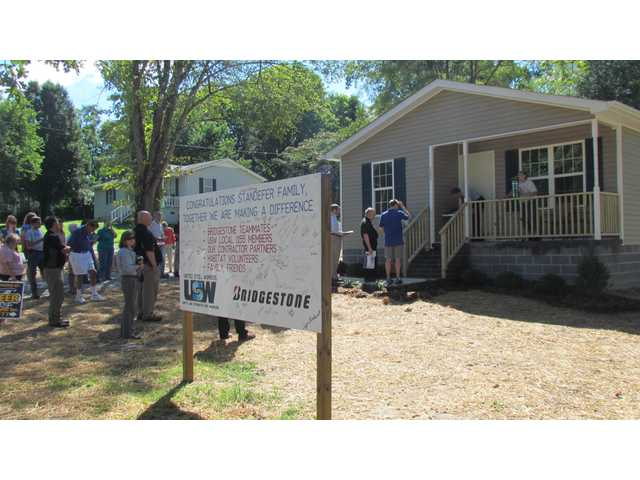 Habitat provides gift of home ownership