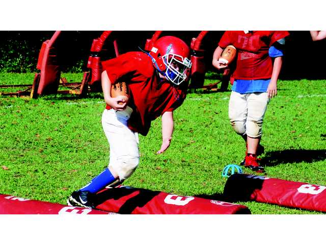 WCMS football team plays waiting game