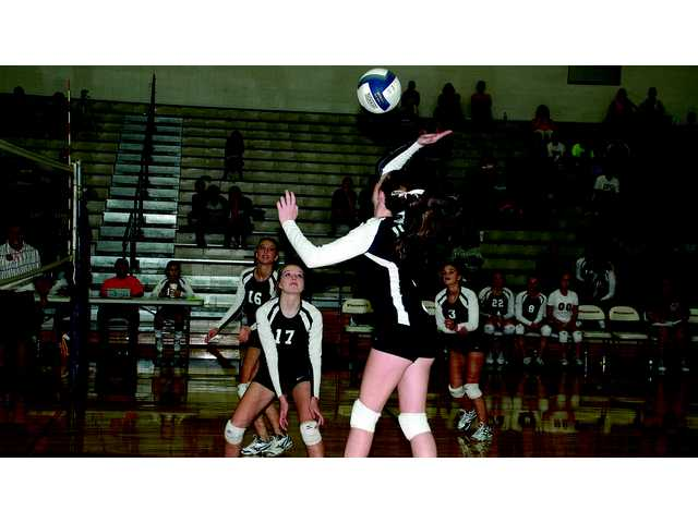 Lady Pioneers serve VBCHS a loss