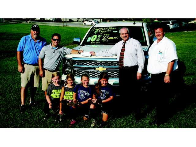 Chevy donates $1,000 to youth leagues