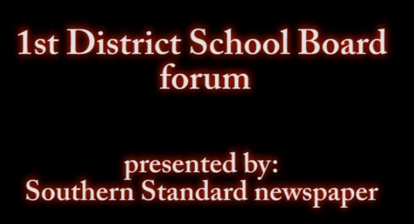 1st District School board forum