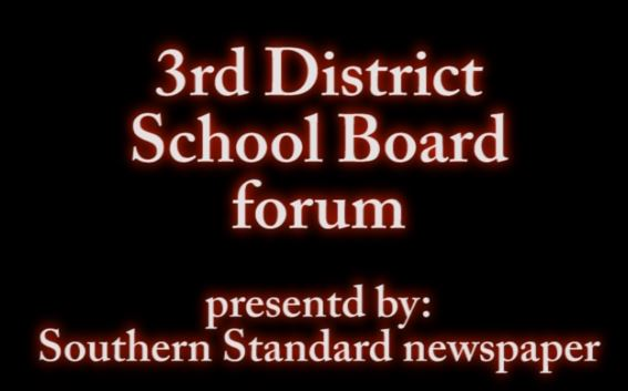 3rd District School Board forum