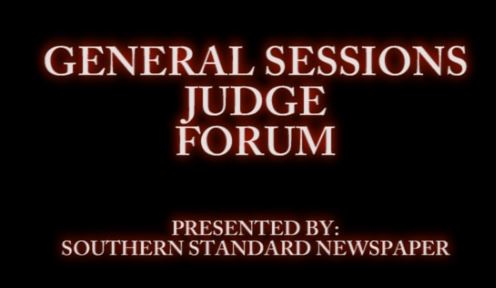 General Sessions Judge forum