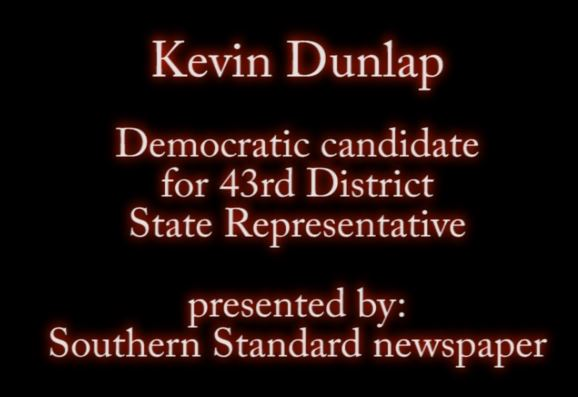 Kevin Dunlap makes opening statement