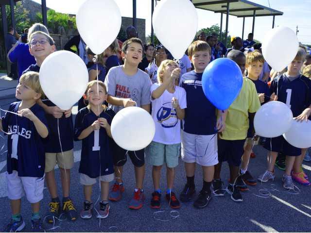 Paint the Town Balloon Launch Julia P