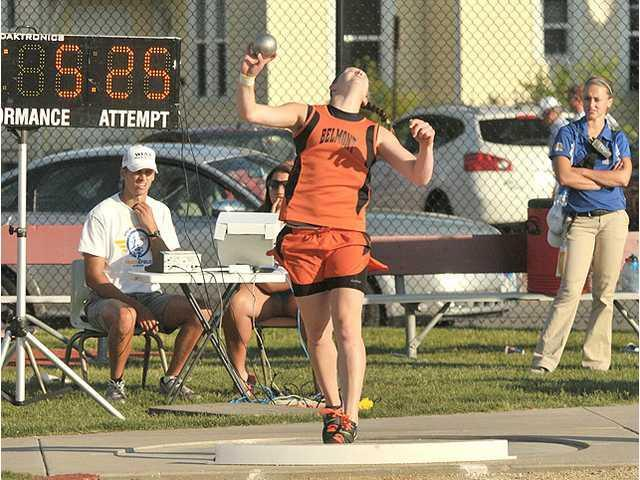 Kamps' final throws net a pair of silver medals