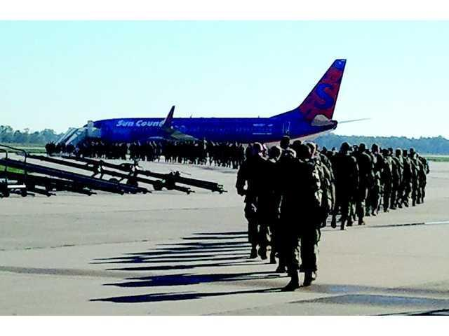 229th heads to Texas; next stop Afghanistan