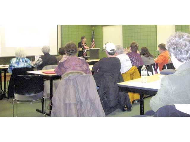 Main Street businesses attend design workshop