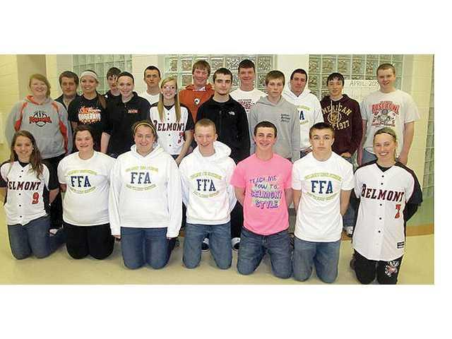 BHS sends teams to FFA Career Development Contest