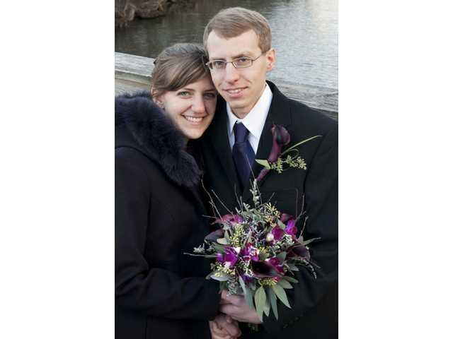 Katherine Carnahan bride of Thomas Carlson on Feb. 16