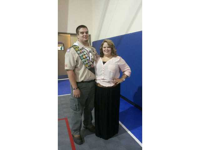 Local teen achieves Eagle Scout, football dreams