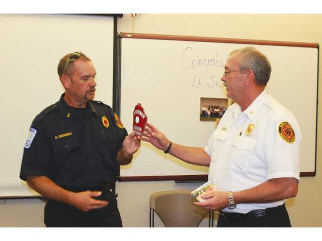 Longtime Barrow fire lieutenant retires