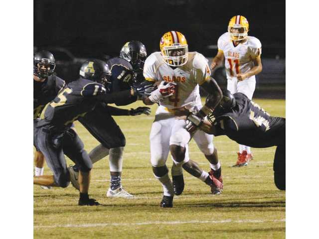 Clarke Central running back repeats last season's career performance against Apalachee