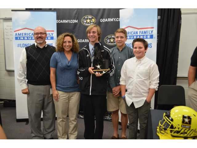 WBHS student named to prestigious U.S. Army All-American Marching Band