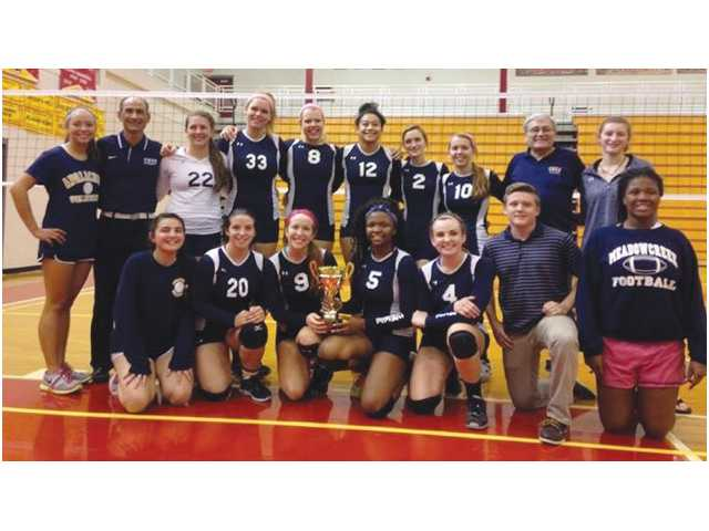 Volleycats three-peat as 2014 Area 8-AAAAA champions